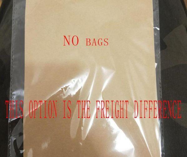 Çanta yok