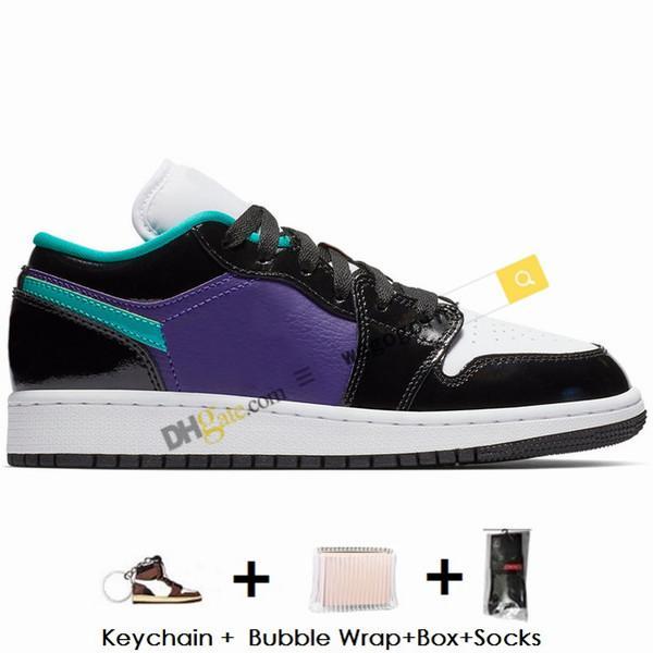 13- black court purple