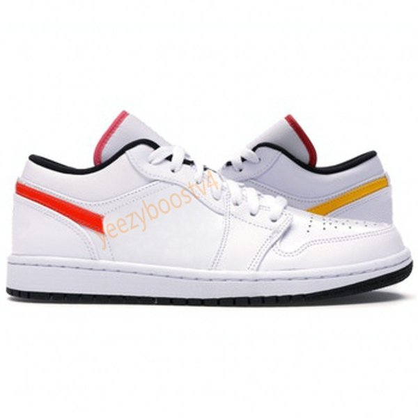 21.white multi-couleurs