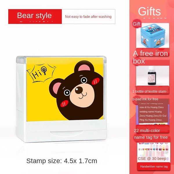 Bär (4.5x 1.7cm) Geschenkbeutel B