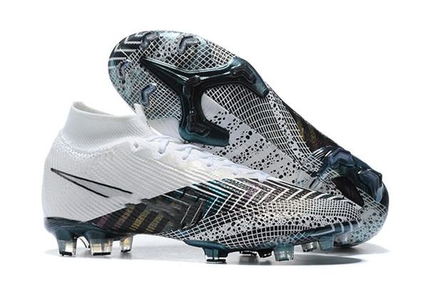 best selling Mercurial Superfly CR7 vii 7 Safari Korea Elite Wavelength Future Lab Hyper Crimson FG Soccer Shoes Youth Kids Football Boots Junior Cleats