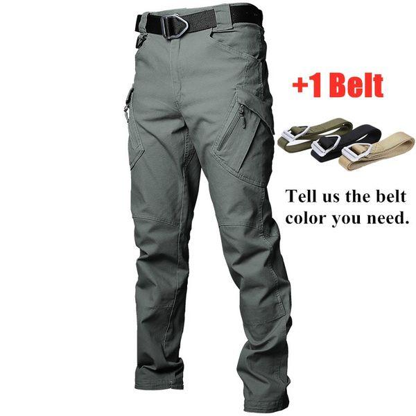 Vert avec ceinture