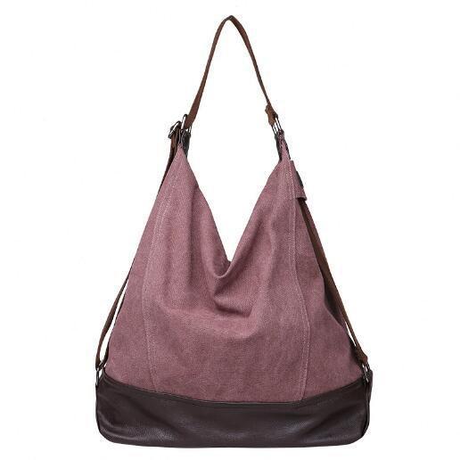 lila Frauentasche