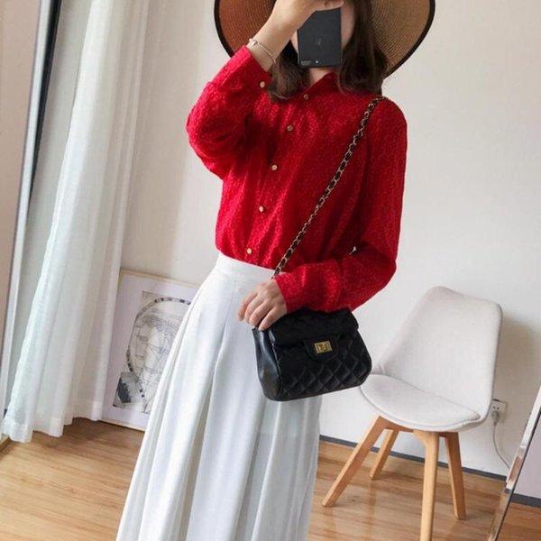 B blusa roja