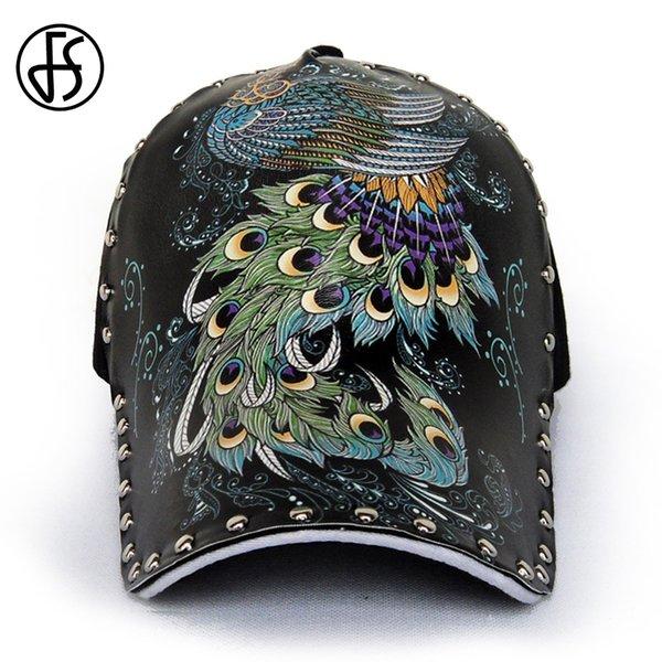 3D Peacock Cap
