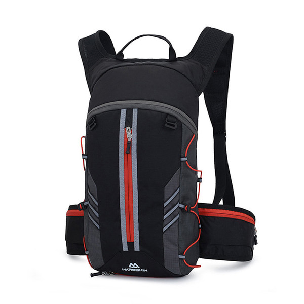 top popular Folding Cycling Backpack Bag Waterproof Sport Outdoor Portable Breathable Bike Water Bag Bicycle Climbing Hydration Backpack MX200717 2021