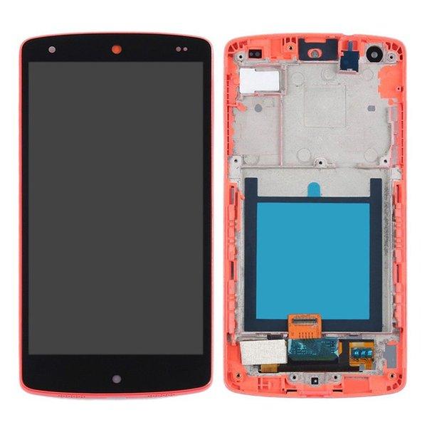D820 rojo para LG con marco