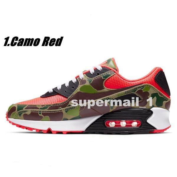 1.Camo Red 36-45