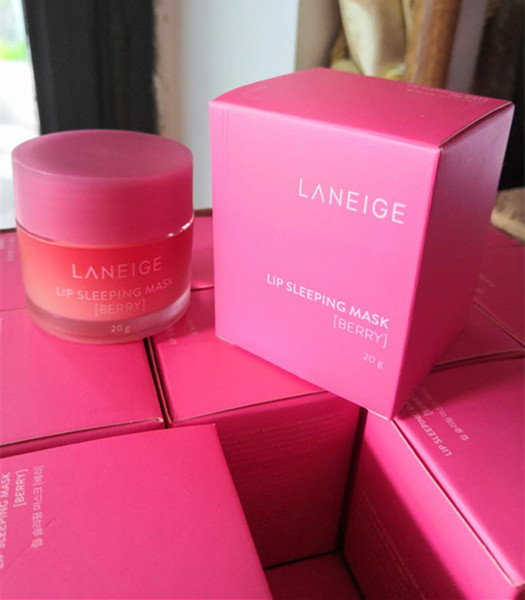 best selling New Packaging Laneige Special Care Lip Sleeping Mask Lip Balm Lipstick Moisturizing Anti-Aging Anti-Wrinkle LZ Brand Lip Care Cosmetic 20g
