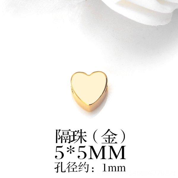 Oro en forma de corazón 1-Un Paquete