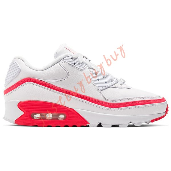 40-45 Undefeated white Solar Red