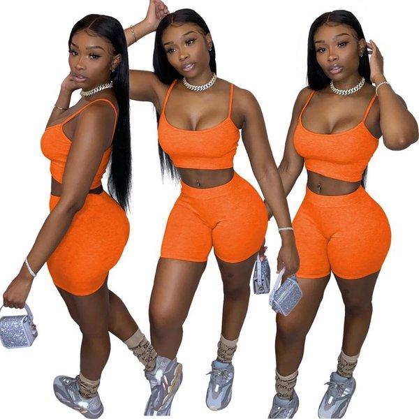 orange 2 teilig