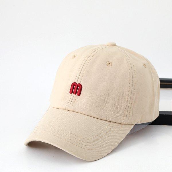 on392 beyzbol şapkası m mektup bej