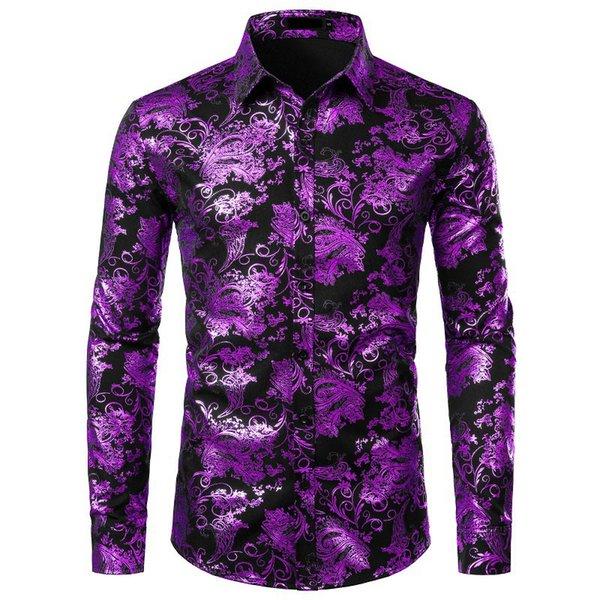 черный и фиолетовый