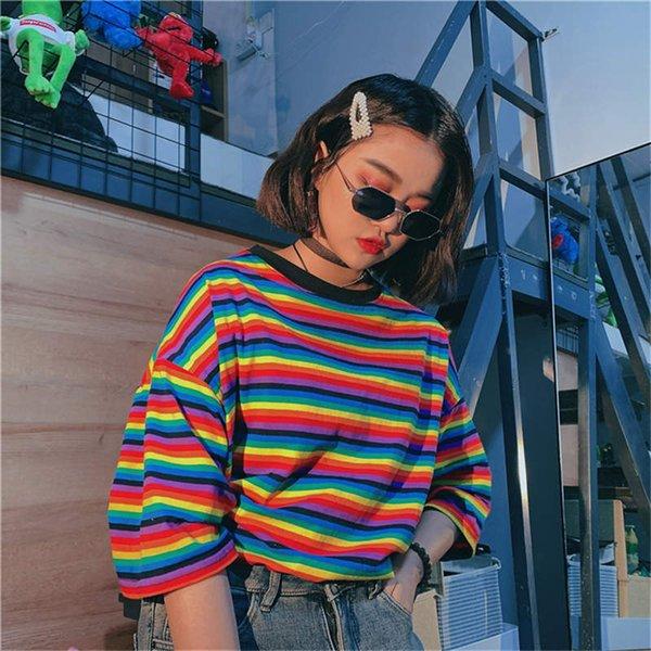 Regenbogen-T-Shirt