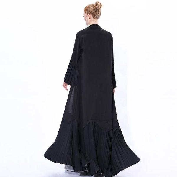 schwarze Strickjacke L