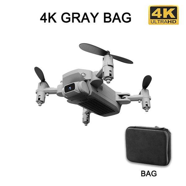 4K Gray bag