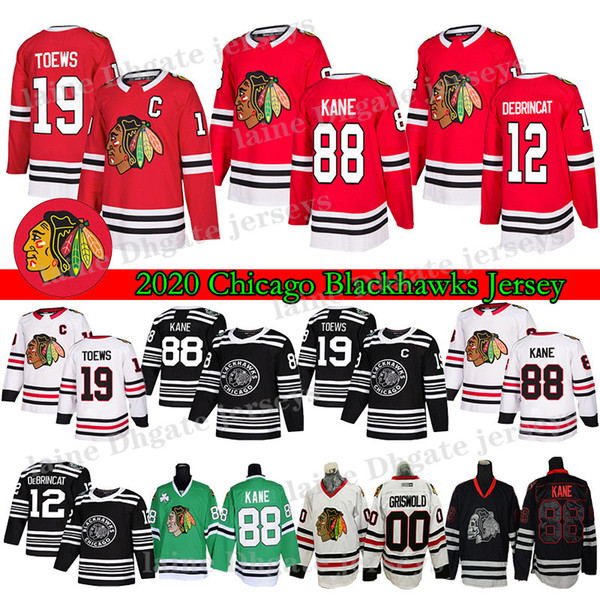 best selling Chicago Blackhawks Jersey19 Jonathan Toews 88 Patrick Kane 2 Duncan Keith Clark Griswold Brandon Saad 50 Corey Crawford Hockey Jerseys
