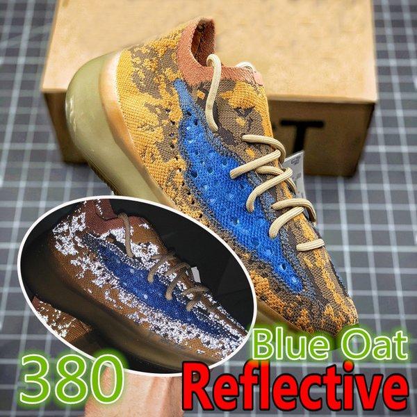 380-Blue avena reflectante