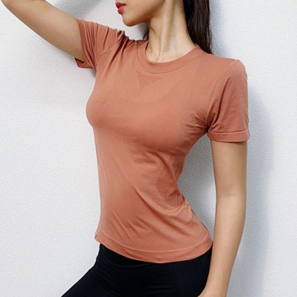 Orange Sport Top