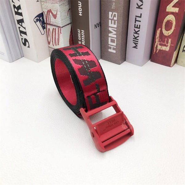cinturón rojo hebilla Red