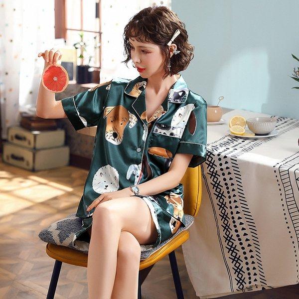 Kadın # 039; s Stil-yeşil Köpek