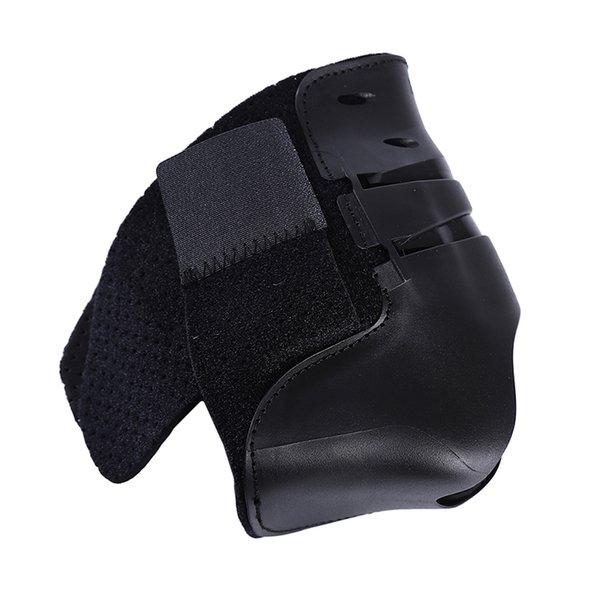 Black right foot