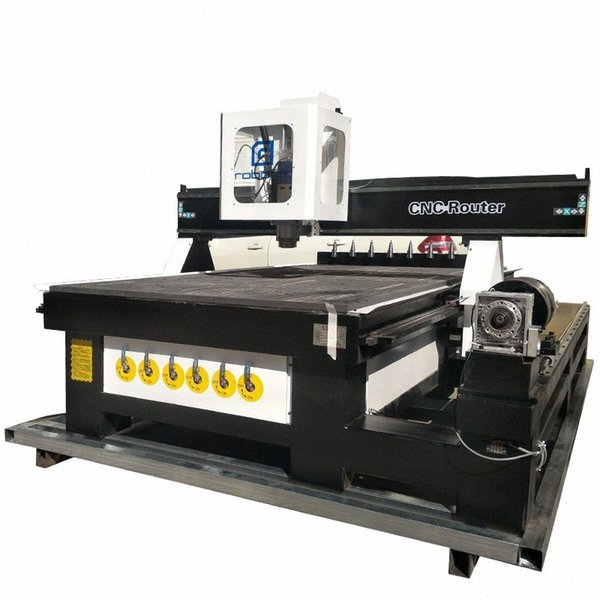 top popular Automatic Wood Carving CNC Router 1325 Woodworking CNC Cutting Machine For Small Business 3d Engraving Equipment 6AOD# 2021
