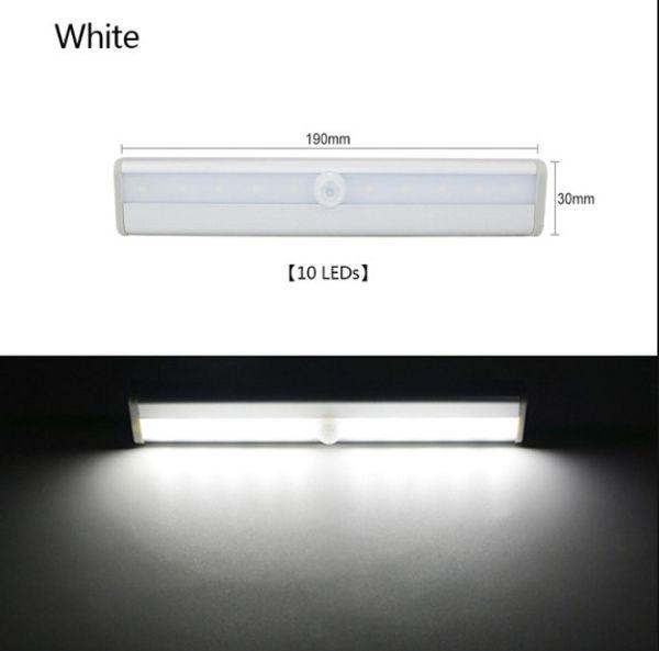 10 leds white