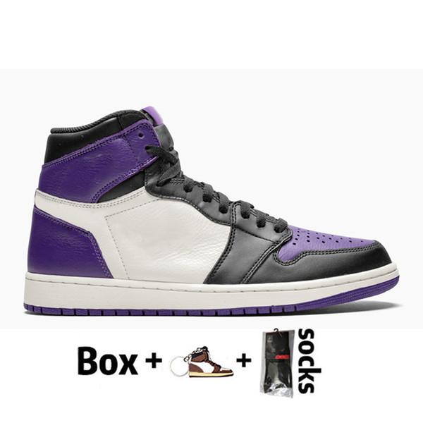 D27 36-46 Court Purple