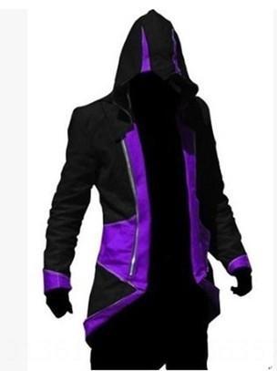 Noir et violet Assassin # 039; s Creed
