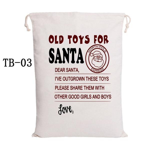 50x70cm TB-03 de Santa Sacks