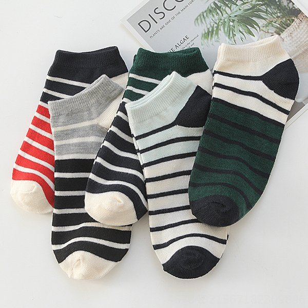 color-changing striped boat Socks
