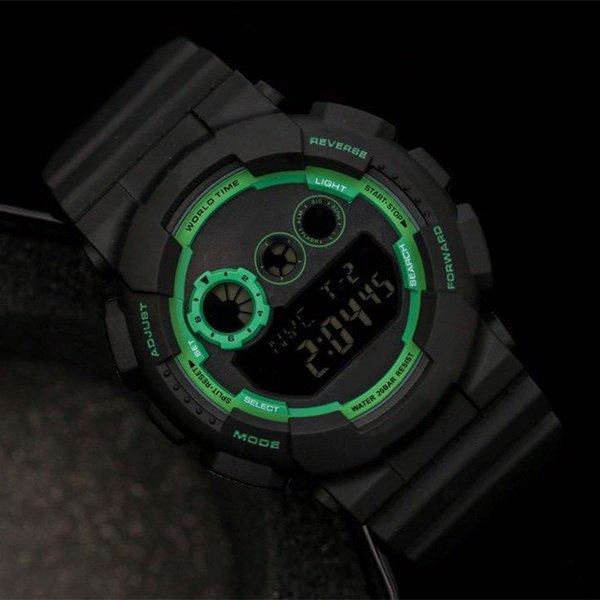 # 8 черный зеленый