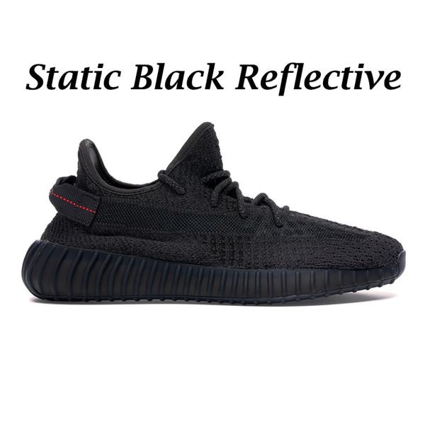 Reflexivo preto estático