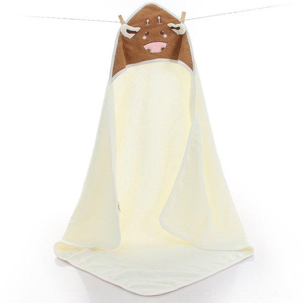 Little Cow Child Quilt White-90 x