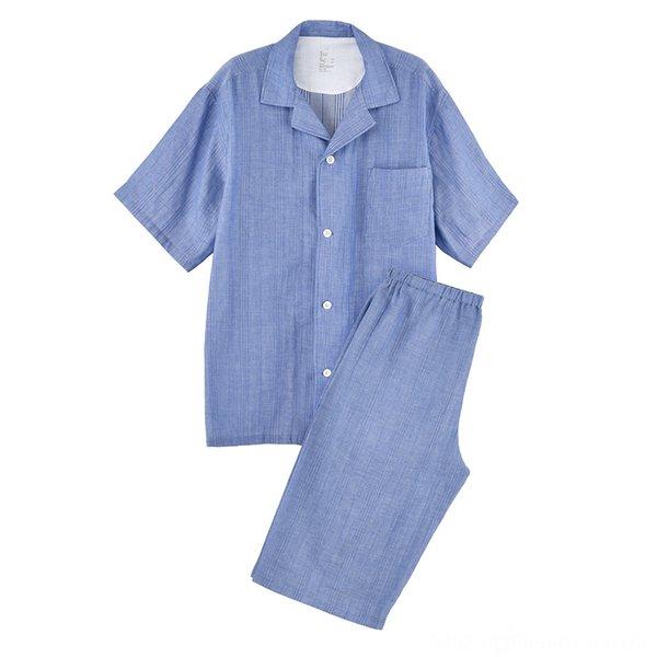 Blue Men (short Sleeves + Shorts)