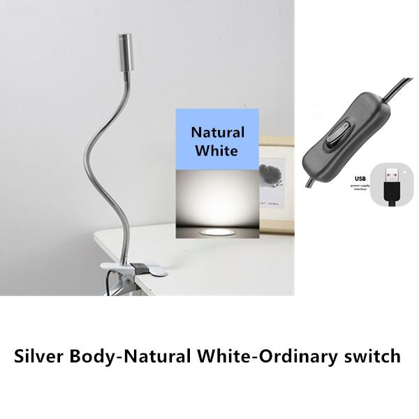 Silver-Natural white
