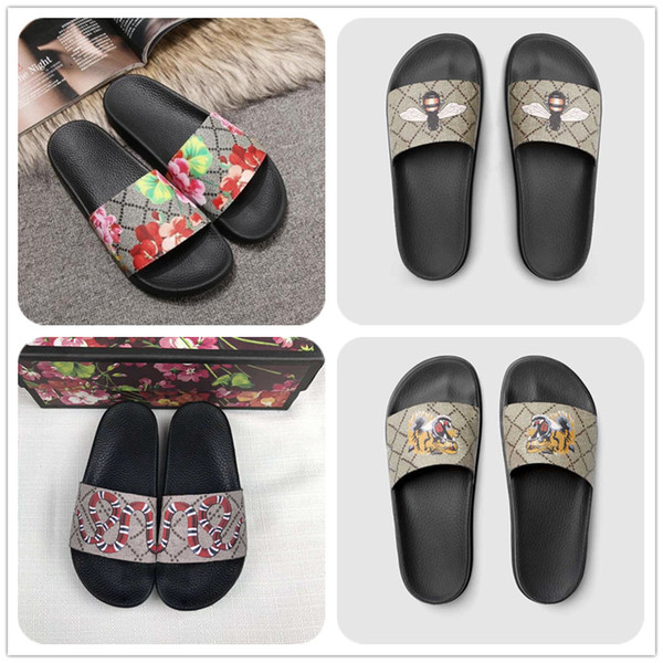 best selling Men Women slides Shoes Summer Wide Flat Slippery Sandals Slipper Flip Flop SIZE 35-45