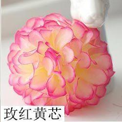 Розовое желтое ядро