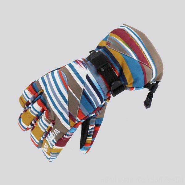 Men # 039; s Guanti 1004 di colore Stripes-l
