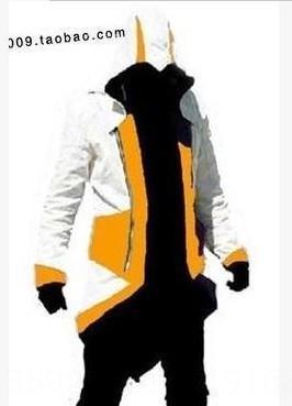 Blanc et jaune Assassin # 039; s Creed