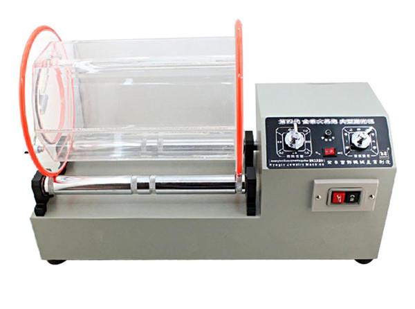 best selling High Quality 220V Rock Rotary Tumbler Jewelry Polishing Machine Finishing Machine Jewelry Tools