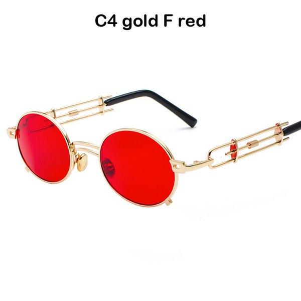 C4 ouro F vermelho