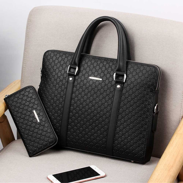 Black with Wallet-For 15.6-inch laptop