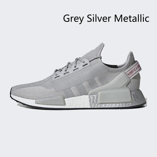 серый серебристый металлик