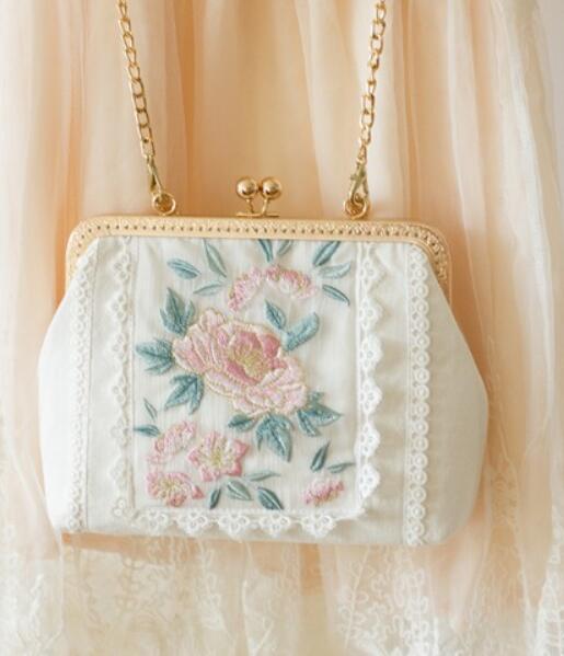 Damentasche Weiß