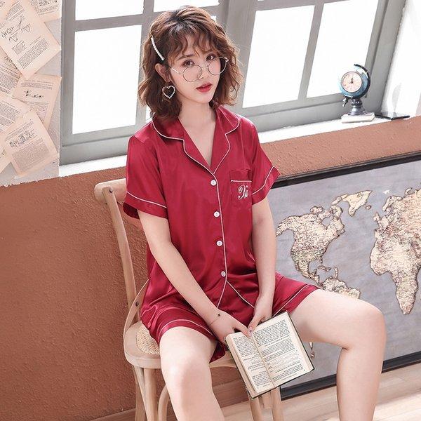 Dark Red-femmes # 039; style