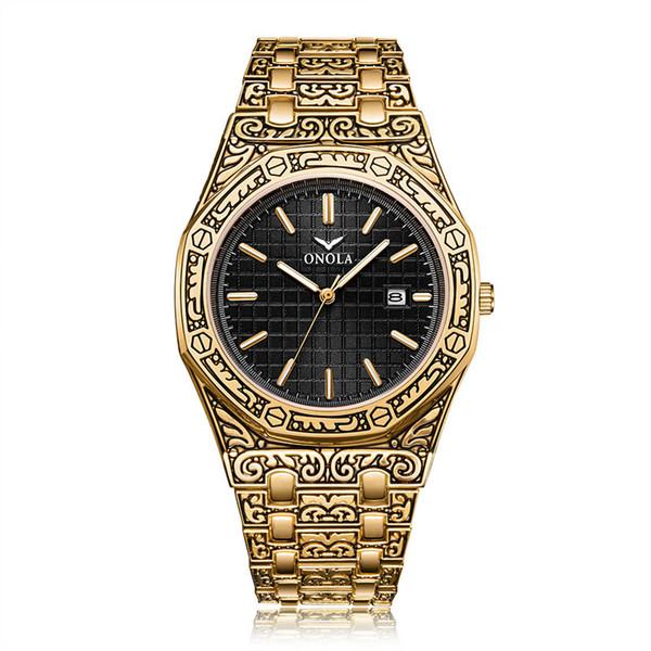 On3812 Altın Siyah