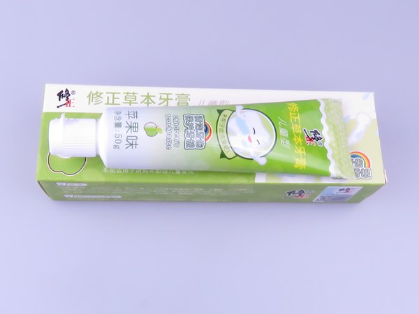 top popular Herbal pure Mint Apple toothpaste 50g 2021